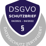 Datenschutz Zertifi kat - DSGVO Schutzbrief - www.dsgvoschutzbrief.com